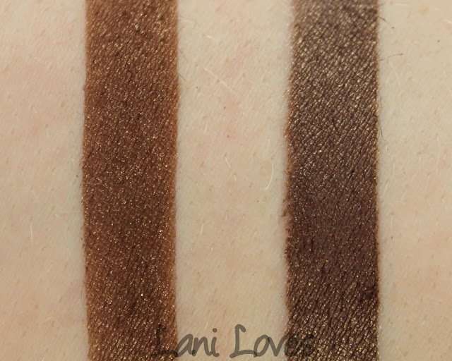 Scaredy Cat Cosmetics Dee's Nuts Swatches & Review