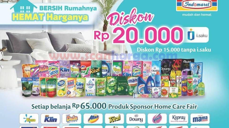 Promo Indomaret Terbaru Home Care Fair 27 Mei 23 Juni 2020 Scanharga