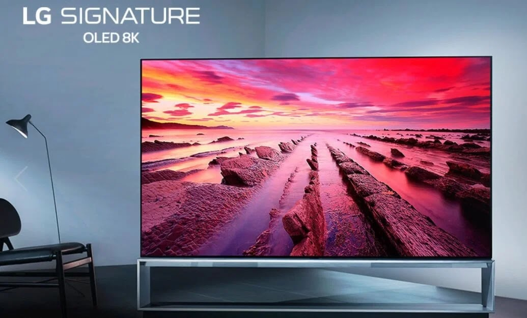 LG Leads Foray Into 8K Television Technology
