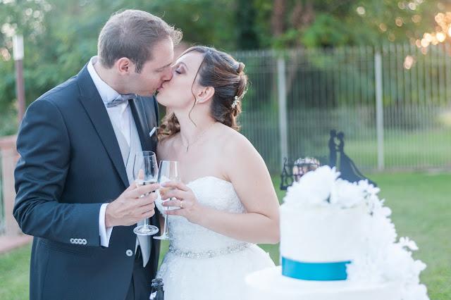 [Real Wedding] Matrimonio a Borgo Ramezzana dal tocco blu petrolio