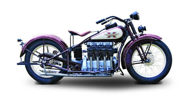 Henderson KJ 1920s American classic motorcycle