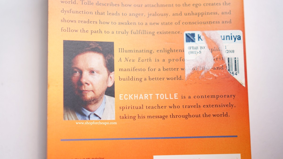 Curhat PSBB & Review Buku A New Earth Eckhart Tolle