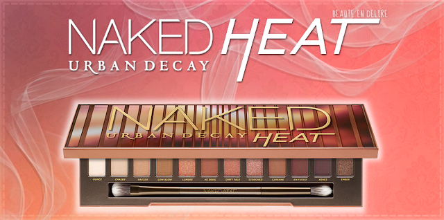 Vignette de l'article sur la collection NAKED HEAT de Urban Decay. Crédit - Beauté en délire