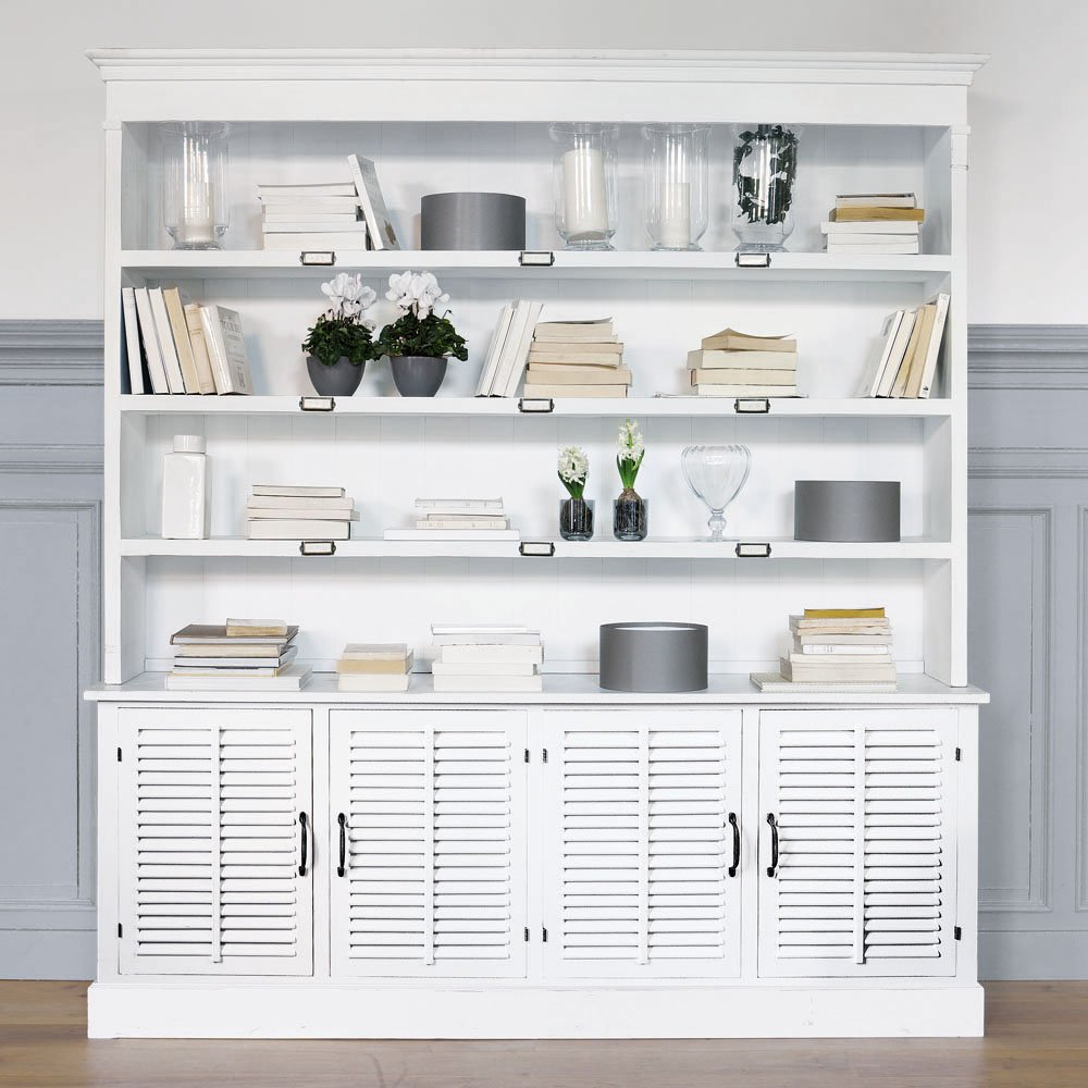 Boiserie c be inspired by cottage style for Libreria maison du monde