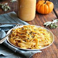 Smokey Pumpkin Sage Pasta Sauce