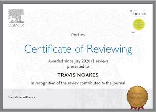 Poetics certificate of reviewing 2020