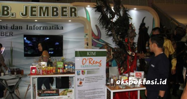 Mie Organik Jember Pikat Pengunjung di Jatim Kominfo Festival