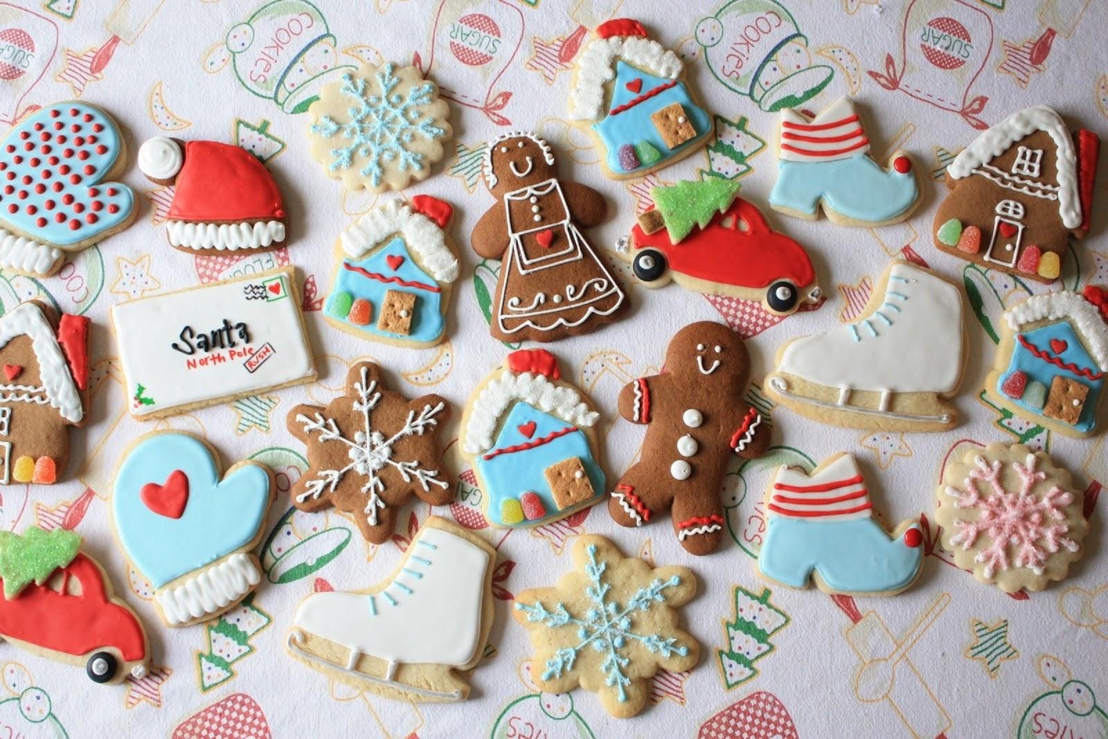 biscotti natalizi, natale, cibo, dolcetti, wallpaper