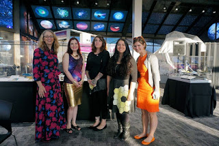 Artists at opening of JWST: Art + Science 2017