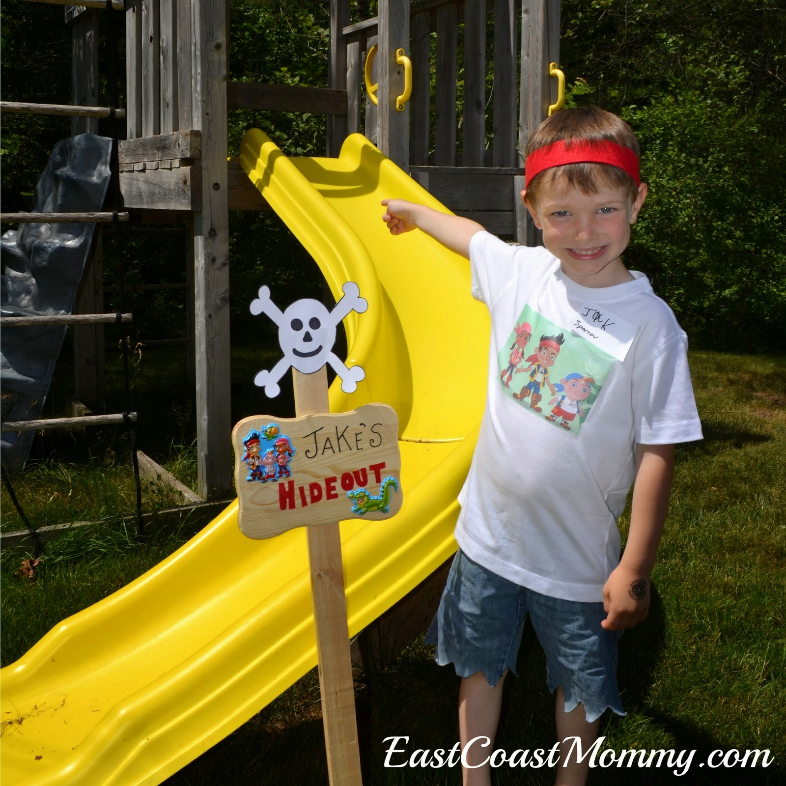East Coast Mommy Jake and the Neverland Pirates Party Games