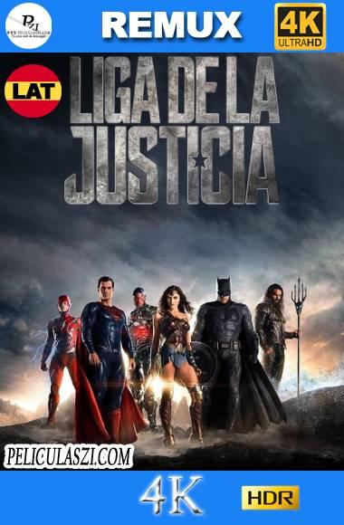 Liga de la Justicia (2017) Ultra HD REMUX 4K HDR Dual-Latino VIP