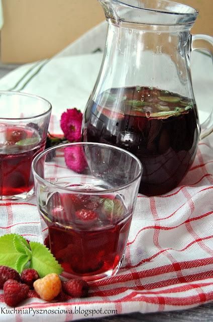 434. Lemoniada z hibiskusa i malin