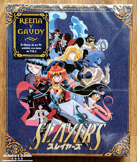 """Slayers"" Box.1 ed. Coleccionistas"