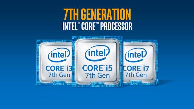 Indikator Generasi di Processor Intel dari Generasi 1 - 7 di tahun 2017