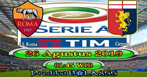 Prediksi Bola855 AS Roma vs Genoa 26 Agustus 2019