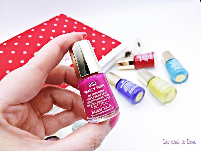 Naive Mint mavala uñas nails dash&splash verano colección belleza beauty