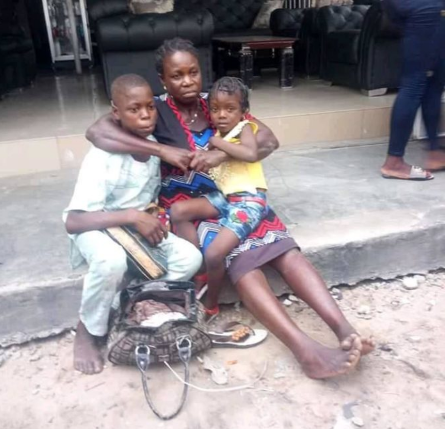 Woman & Her Two Kids Survive Freak Accident Involving SUV and Keke