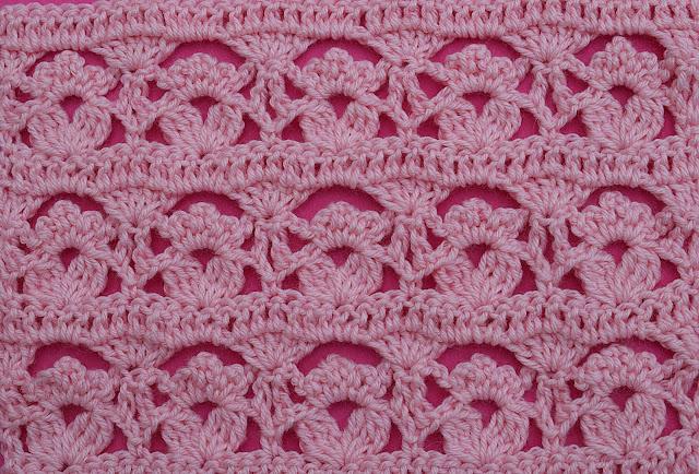 1-Crochet Imagen Puntada de flores a crochet y ganchillo por Majovel Crochet