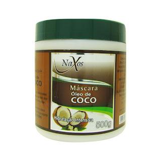 Linha para Cabelos de Óleo de Coco Naxos
