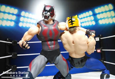 S.H.Figuarts Tiger Mask y Tiger the Dark - Tamashii Nations