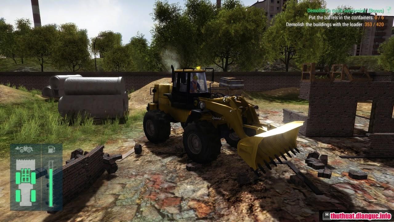 game mô phỏng chủ thầu xây dựng