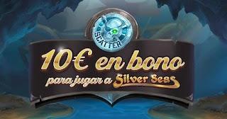 Paston promo 10 euros gratis slot Silver Seas 10-16 mayo 2021