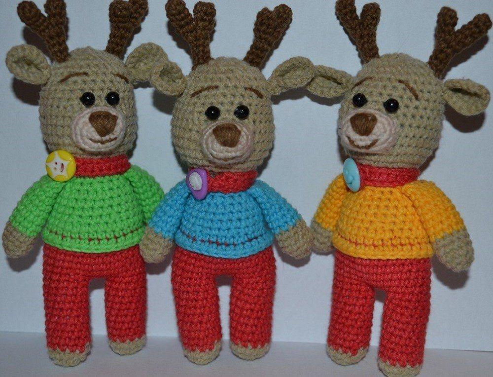 Amigurumi Reindeer Free Pattern : Amigurumi reindeer crochet pattern amiguroom toys