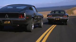 Dunia Sinema Bullitt Ford Mustang dan Dodge Charger