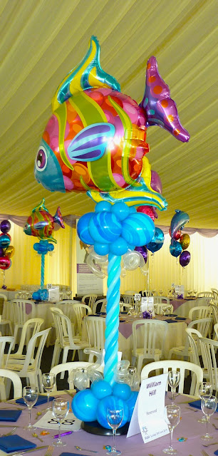 Fabulous Fish Centrepieces by Sue Bowler, CBA.