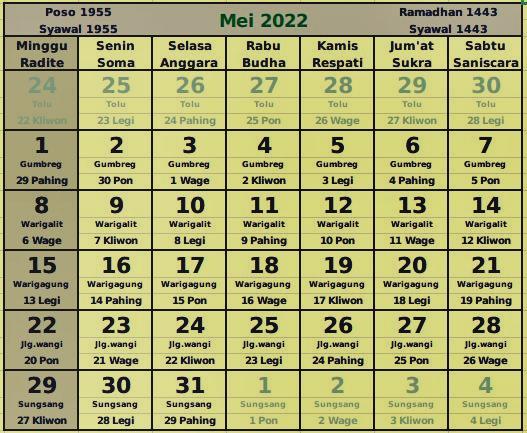 download kalender mei 2022