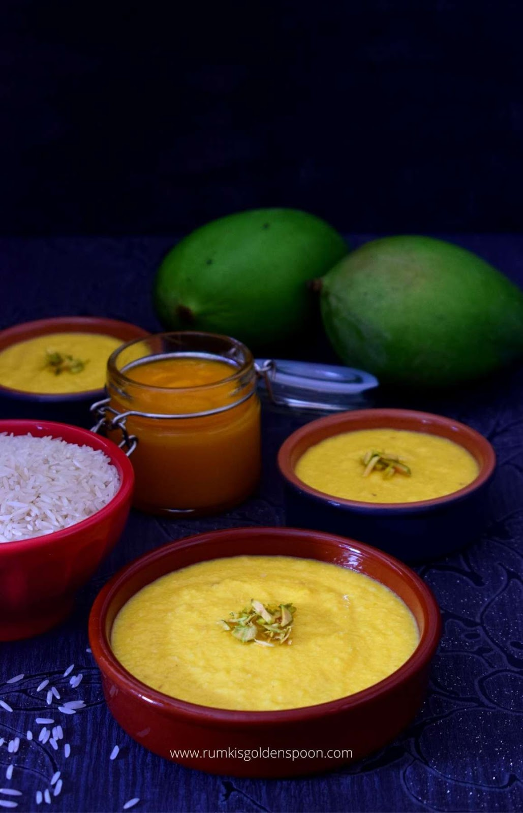 Mango firni, Mango phirni, mango firni recipe, mango phirni recipe, how to make mango phirni, Indian mango pudding recipe, aam phirni, aam ki phirni, firni recipe, recipe of phirni, recipe for phirni, phirni, phirni recipe, firni, firni recipe, recipe of firni, phirni sweet recipe, rice phirni recipe, easy phirni recipe, phirni dessert recipe, how to make phirni, rice kheer recipe, kheer recipe, mango dessert, mango dessert recipes, mango dessert recipe, mango recipes dessert, Indian mango dessert recipes, Indian dessert recipes with mango, Indian dessert with mango, indian sweet recipes, Rumki's Golden Spoon