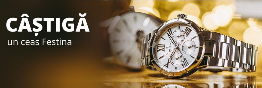 Concursul lunii Decembrie Brasty - Castiga un ceas Festina - concursuri - online