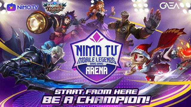 Nimo TV Mobile Legends Arena