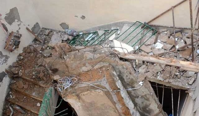 Seven Children Are Killed, 57 Injured After Classroom Collapsed On Them (See Photo)