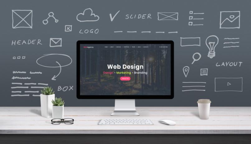 Web Design imagen usada con licencia de Adobe Stock para Homo-Digital