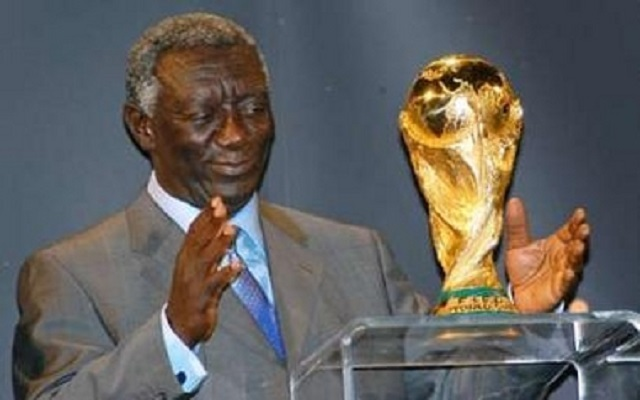 Ex-President Kufuor: Ghana must tackle issues to qualify for Russia 2018