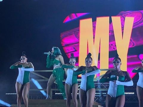 WATCH VIDEO: Cardi B Performance At Live Spot Festival In Lagos, Nigeria