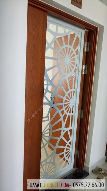 Làm cửa sắt chung cư tại chung cư 183 Hoàng Văn Thái
