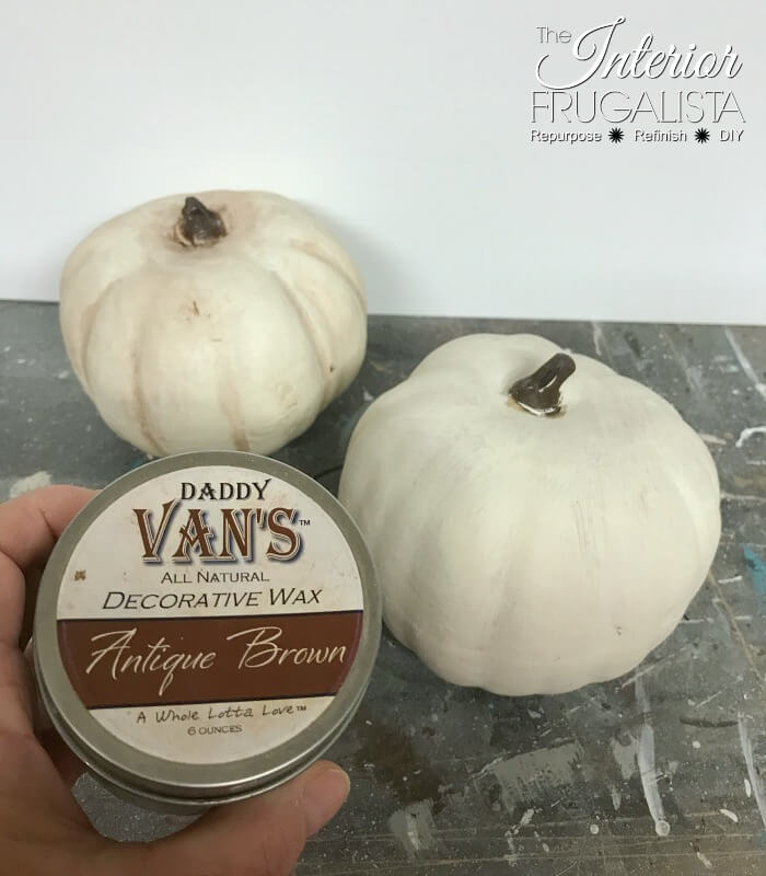 Faux Pumpkin Ideas