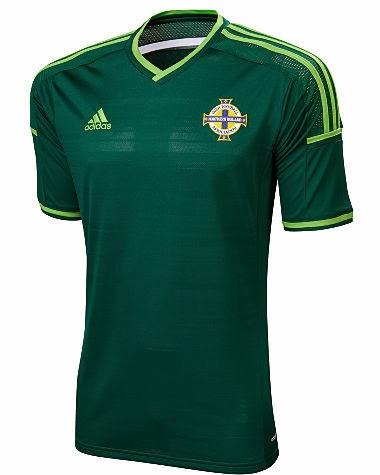 me quejo sufrimiento lantano  Todos Los Partidos Entre Selecciones: Nueva camiseta de Irlanda del Norte