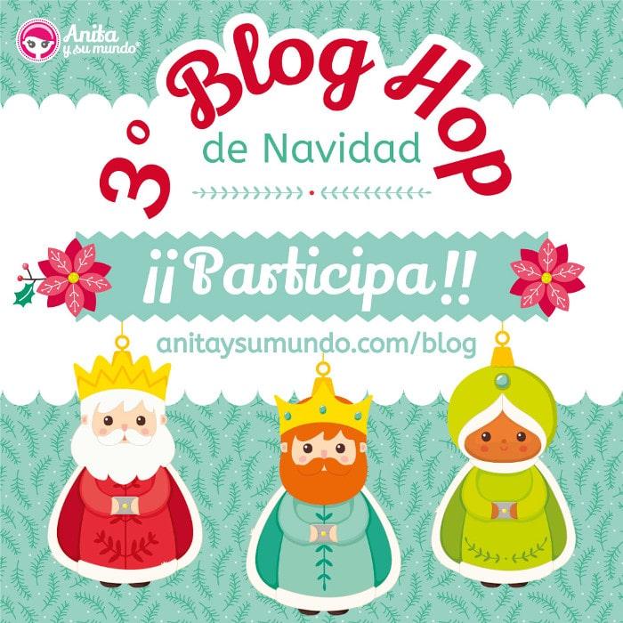 CALENDARIO DE ADVIENTO - 3º BLOG HOP NAVIDEÑO ANITA Y SU MUNDO
