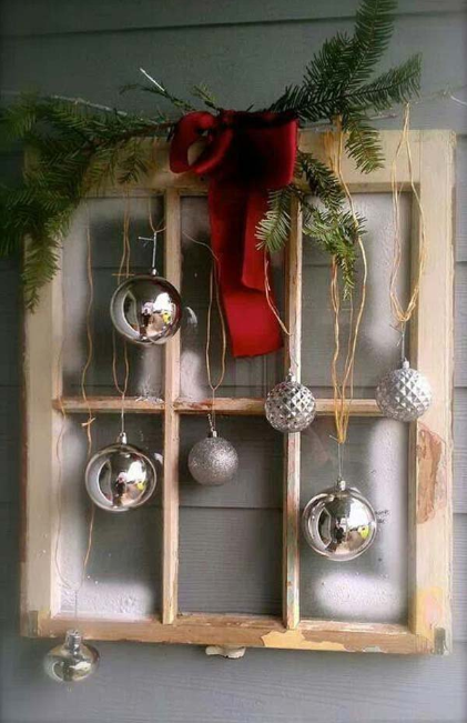 MOST FASCINATING CHRISTMAS WINDOWS DECORATING IDEAS