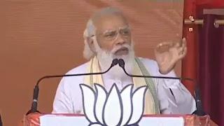 भागलपुर में बोले PM Modi- विरोध-अवरोध को जरा भी मौका मिला तो बिहार की गति और प्रगति धीमी पड़ जाएगी