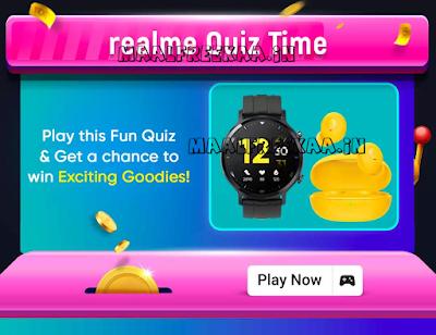 Flipkart realme 32FHD Launching Contest