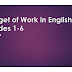 BUDGET OF WORK IN ENGLISH GRADES 1-6
