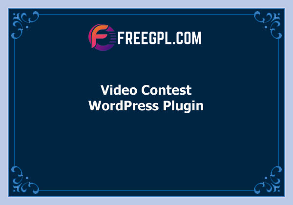 Video Contest WordPress Plugin Free Download