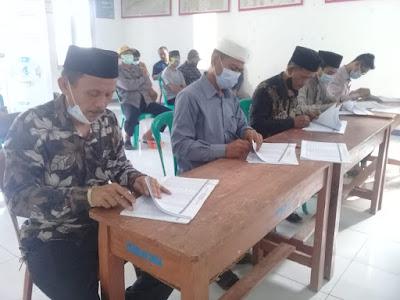 Panitia Pilkades Sangiang Laksanakan Rapat Pleno DPS