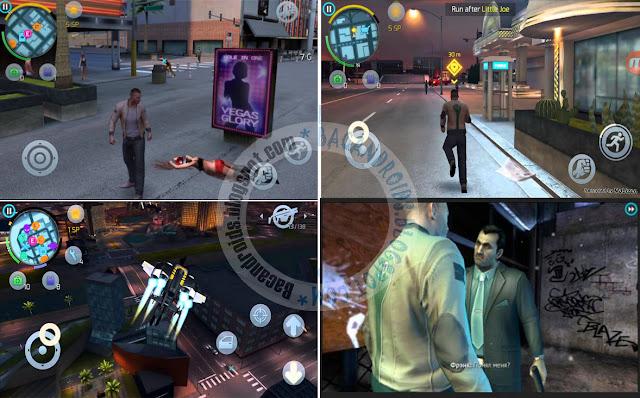 download game Gangstar Vegas Mega Mod Apk + Data(OBB) for android serta cara install