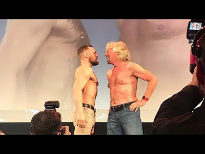 Richard Branson and Conor McGregor Face Off