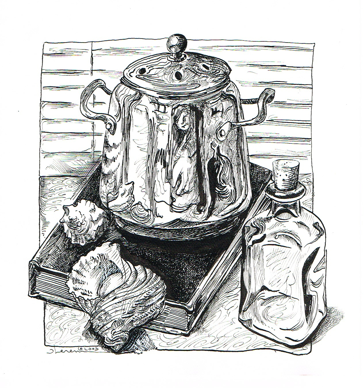 Images About Pen And Ink Wash